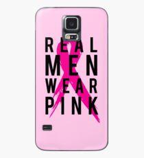 44de057a Slim Fit T-Shirt. Real Men Wear PINK - Mens Breast Cancer Case/Skin for  Samsung Galaxy
