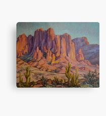 Arizona Landscape Metal Print