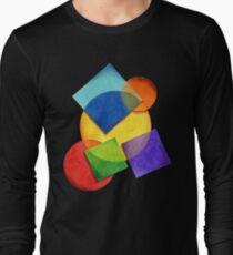 Rainbow Candy Geometric T-Shirt