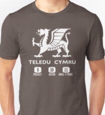 Teledu Cymru Unisex T-Shirt