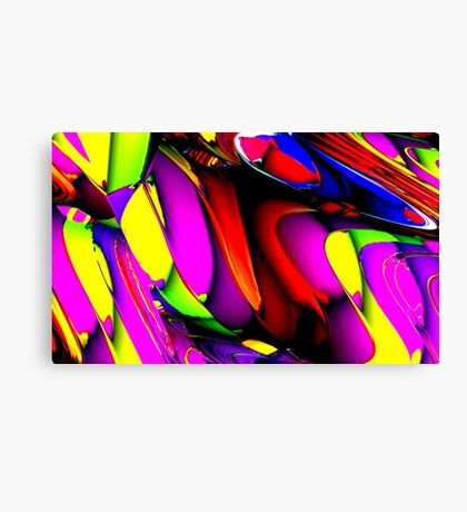 Life is Crazy Canvas Print
