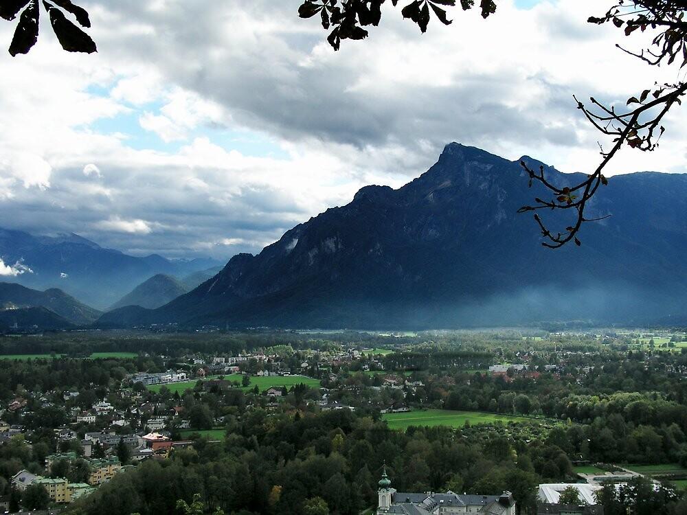 Alps Near Salzburg by davidandmandy