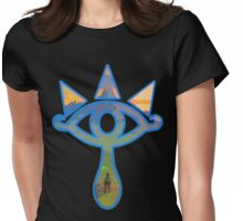 Inside the Sheikah eye Womens Fitted T-Shirt