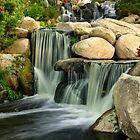 Redhawk Waterfall by jswolfphoto
