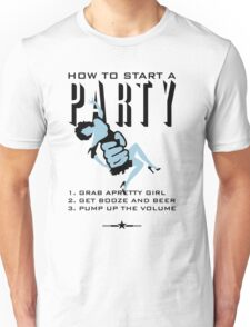 How to start a party VRS2 T-Shirt