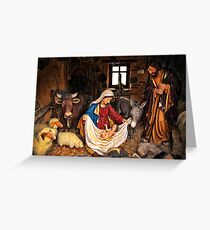 Birth of jesus Greeting Card