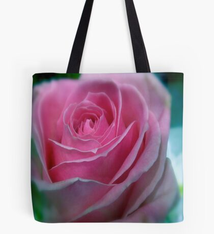 BUBBLEGUM PINK ROSE Tote Bag