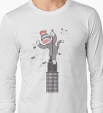Sock Monkey Just Wants a Friend Long Sleeve T-Shirt