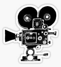 Old Movie Camera vers. 2 Sticker