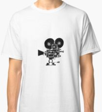 Old Movie Camera vers. 2 Classic T-Shirt