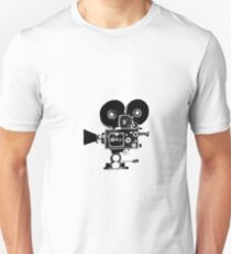 Old Movie Camera vers. 2 Unisex T-Shirt