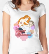 The Ginger Mermaid Women's Fitted Scoop T-Shirt