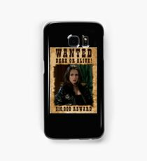 Buffy Faith Wanted Eliza Dushku Samsung Galaxy Case/Skin