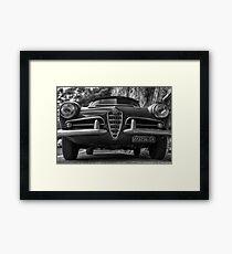 Alfa romeo spider 1963 Framed Print