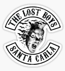 The Lost Boys - Sons B&W Mashup Sticker