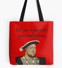 Henry VIII Tote Bag