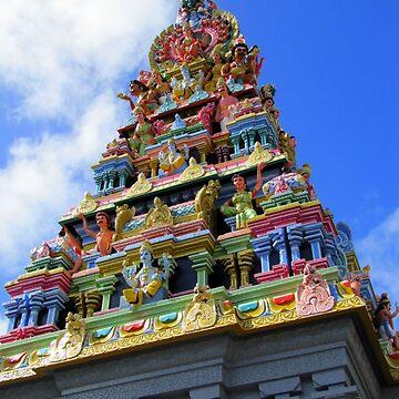 temple (Mauritius) by FedericoFaggion