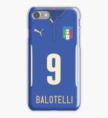 World Cup 2014 - Italy Balotelli Shirt Style iPhone Case/Skin