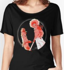 Huey & Riley: The Ninja Way (red) Women's Relaxed Fit T-Shirt