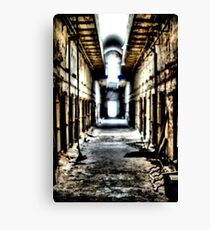Cell Block Canvas Print