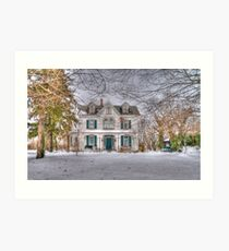 Carriage and House Art Print