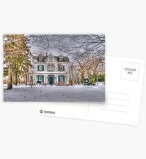 Carriage and House Postcards