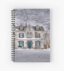 Carriage and House Spiral Notebook
