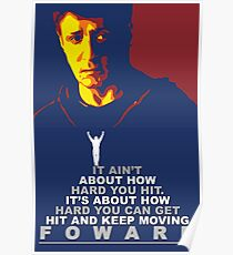 Rocky Balboa Fan Postar Poster
