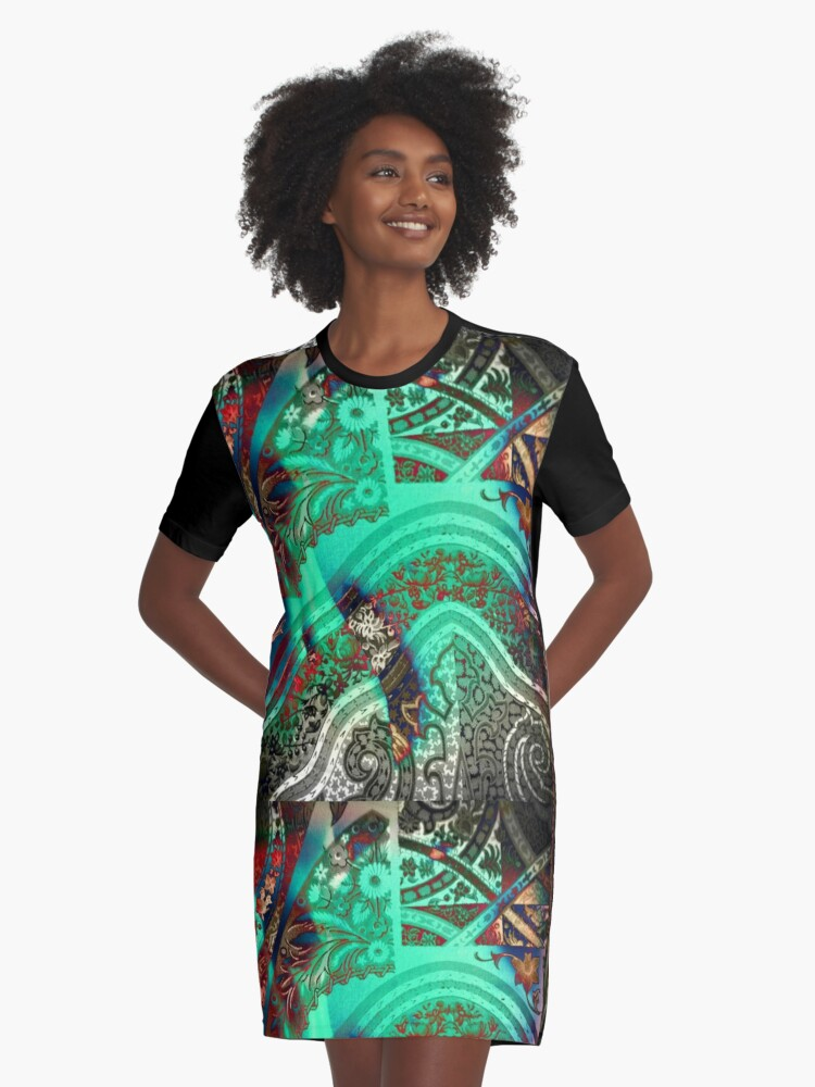 3782 Graphic T-Shirt Dress Front