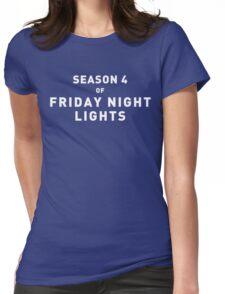 FRIDAY NIGHT LIGHTS SEASON 4 Womens Fitted T-Shirt