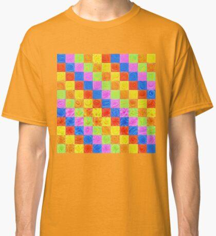 #DeepDream color factures Classic T-Shirt