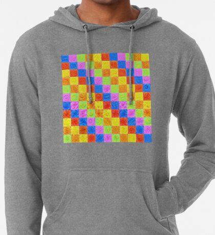 #DeepDream color factures Lightweight Hoodie