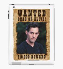 Buffy Xander Wanted iPad Case/Skin