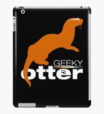 Geeky Otter! iPad Case/Skin