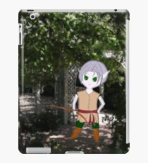 E is for Elf iPad Case/Skin