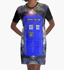 TARDIS CLASSIC LONDON POLICE BOX 1 Graphic T-Shirt Dress
