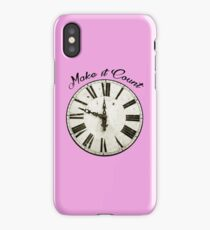 Make it Count iPhone Case/Skin