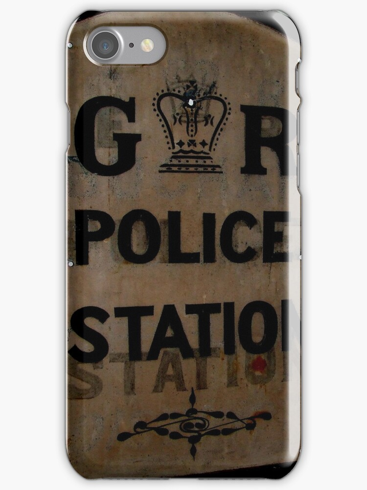 Vintage Police Sign by Andrew Turley