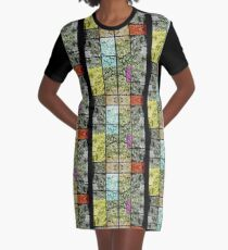 THE GARDEN OF MYSTERIES 5 Graphic T-Shirt Dress