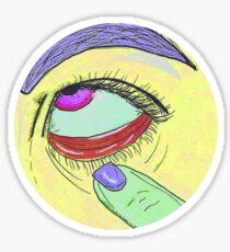 Joyful Annoyance Sticker