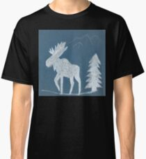 Snow Moose Classic T-Shirt