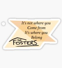 The Fosters Sticker