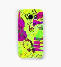 Psychedelic Music  Samsung Galaxy Case/Skin