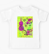 Psychedelic Music  Kids Tee