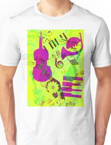 Psychedelic Music  Unisex T-Shirt
