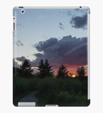 A Path to the Sunset - Summer Walk in the Park iPad Case/Skin