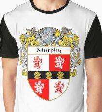 Murphy Coat of Arms/Family Crest Graphic T-Shirt