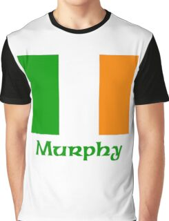 Murphy Irish Flag Graphic T-Shirt
