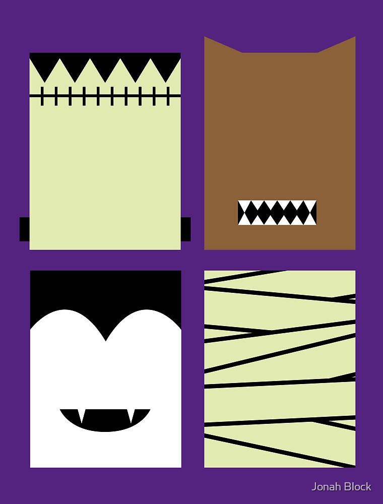 Minimal Monster Mash by Jonah Block