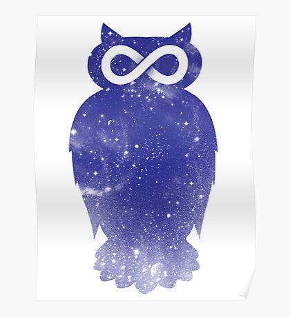 Cosmic owl II Poster
